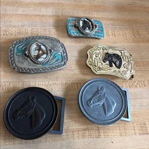 5pc. Belt buckle for man